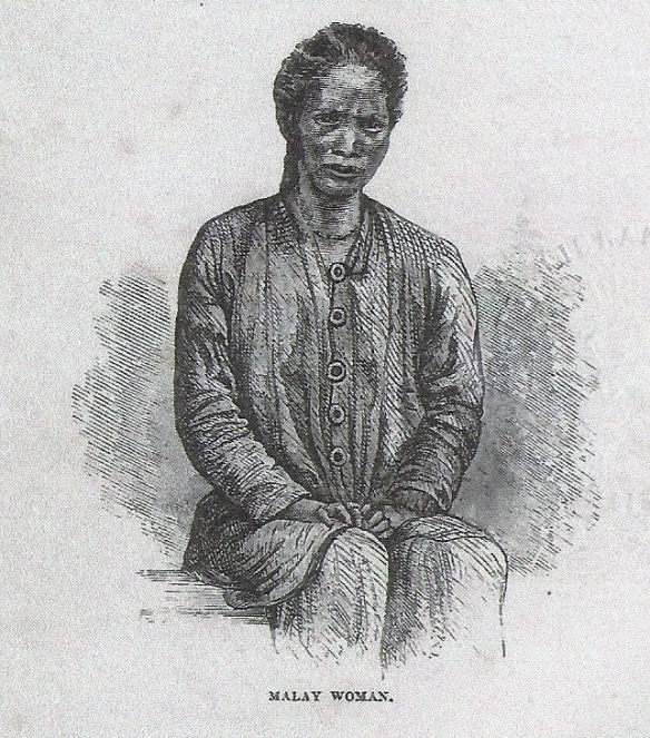 Sketch of a Malay Woman