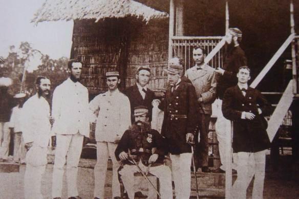 British-Officals-Pangkor