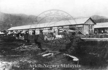 Port Weld circa 1885. Source: Arkib Negara Malaysia