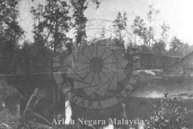 Port Weld Line circa 1890. Source: Arkib Negara Malaysia