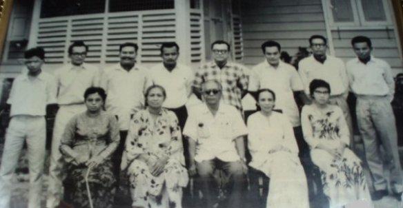Razman's family