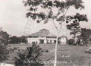 Residency, Taiping. Source: Arkib Negara Malaysia