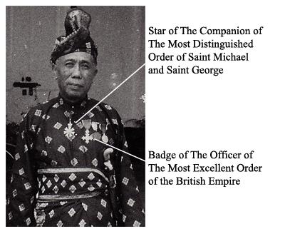 Raja Kam medals