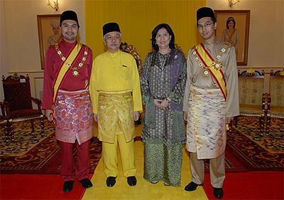 Tuanku Muhriz family