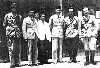 Soekarno and Hatta in Taiping