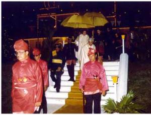 Tabal Pusaka - Pertabalan Sultan Perak